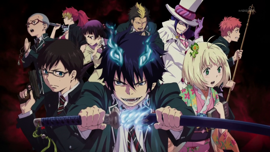 [Anime + Manga] Ao no Exorcist	 Blue-Exorcist