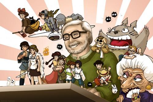 hayao-miyazaki-entourecc81-de-ses-crecc81ations3