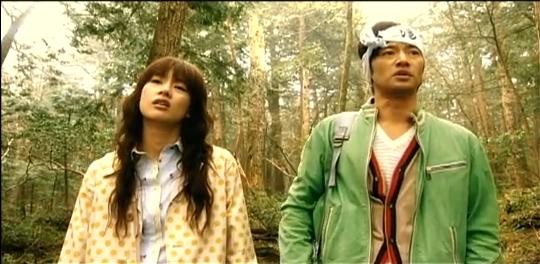 Le couple Oki interprété par Yutaka Takenouchi et Asami Mizukawa.