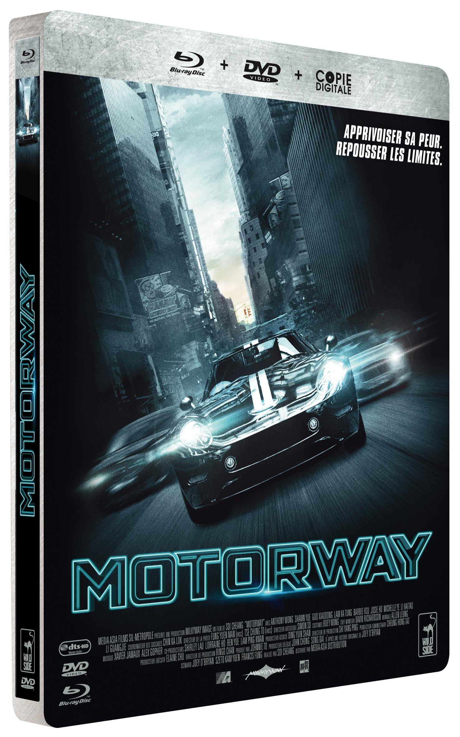 MOTORWAY-Blu-ray Combo Steelbook