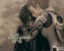 blue submarine no6