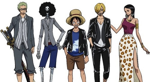 one piece redimensionné