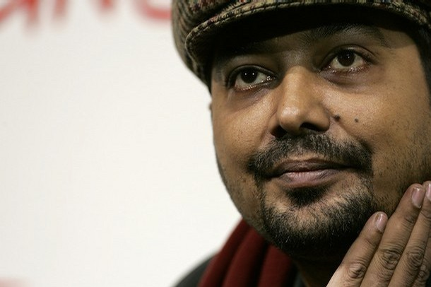"India's movie director Anurag Kashyap poses during a photo call to present his latest movie ""No Smoking"" at the Rome International Film Festival"