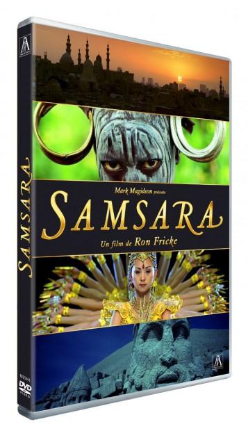 Samsara, DVD, Packshot