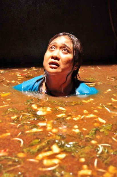 Woman in a septic tank Eugene Domingo FICA