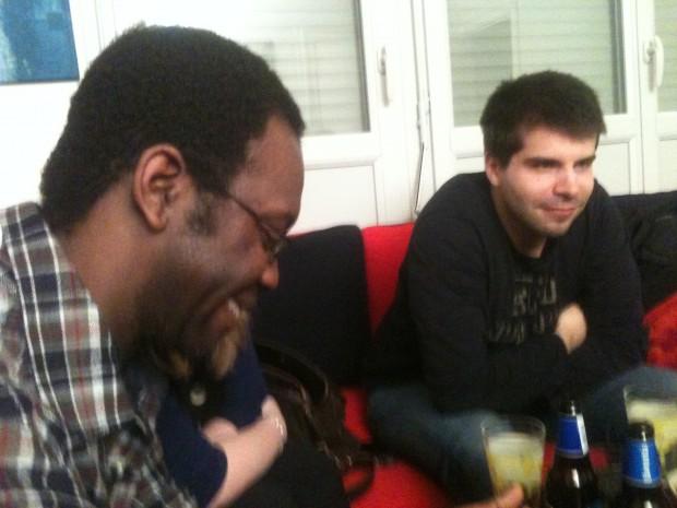 Sidy et Nicolas : un débat concentré et sérieux