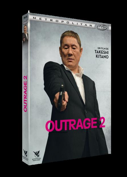 DVD OUTRAGE 2 3D frise