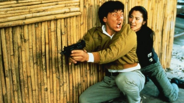 Jackie Chan et Michelle Yeoh dans Police story 3 de Stanley Tong (1992)