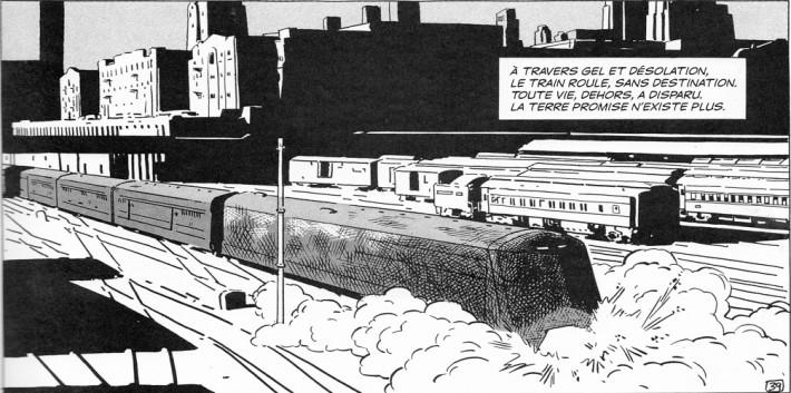 Le Transperceneige, Jean-Marc Rochette